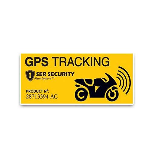 Auto Sticker Art Sticker Sticker Sticker GPS Tracking Jauw en Zwart Mode Sticker PVC Decals 11.3X5Cm