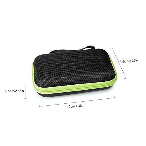 Destinely Geeignet für Philips Razor Box Hard Case, Philips OneBlade Reiseaufbewahrungstasche, Netzbeutel, stabile Schaumstoffeinlage, unverzichtbar für Campingausflüge