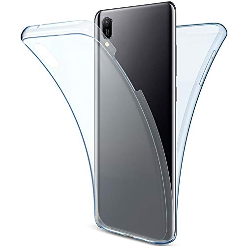 Best Prices! Herbests Compatible with Huawei Y6 Pro 2019 Case 360 Front and Back Full Body Protectio...