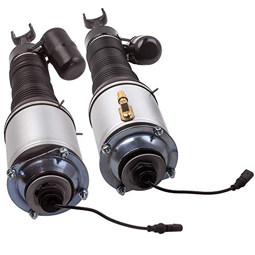 Pair Air Suspension Shock Strut Front for VW Pheaton Bentley Flying Spur Continental GT (2003-2012) 3D5616040 3D5616039