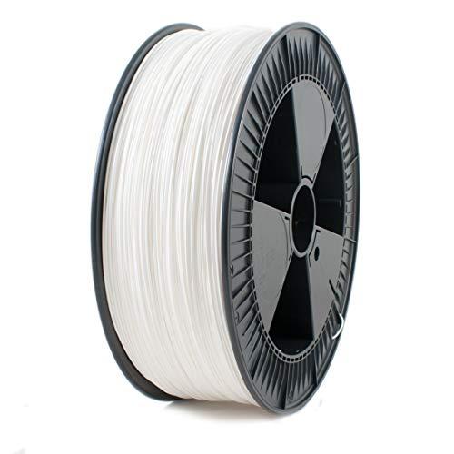 Ice Filaments PLA118 Filamento PLA, 1.75mm OD, 2.3 kg, Blanco Maravilloso