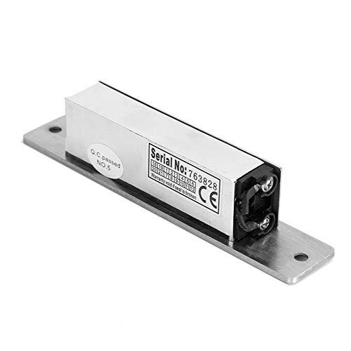 Elektroschloss, DC12V Edelstahl Kathodenschloss Elektromagnetisches Sicherheitsschloss für Zugang zur Tür
