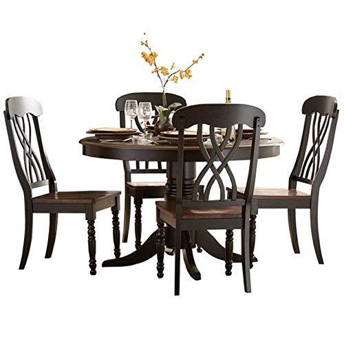 Homelegance Ohana 48 Round Dining Table Black