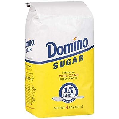 Domino Granulated Pure Cane White Sugar 4 Lb Bag