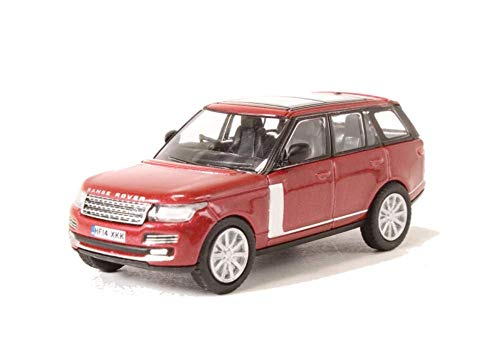 Oxford Diecast 76RAN003 Range Rover Vogue Firenze Red by Oxford Diecast