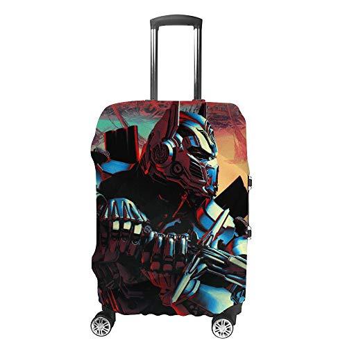 T-ransformer-s - Funda protectora para maleta, elástica, a prueba de polvo, con cremallera, sin maleta.
