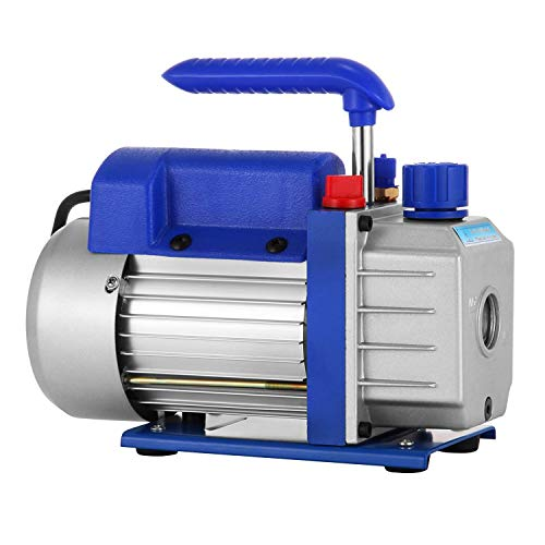 Mophorn Bomba de Vacio, 3-4 - 4.8CFM Sistemas de Refrigeracion, Bomba de Vacio para Aire Acondicionado, 220V Aire Acondicionado Electrico para Coche (3CFM1-3HP)