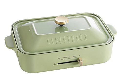 BRUNO コンパクトホットプレート BOE021-GR グリーン BOE021-GR