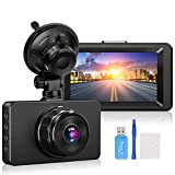 Dashcams, Dash Camera for Cars 1080P Full HD Dash Cams,3' IPS Screen Car Dash Cam 170°Wide Angle Car Dash Camera, DVR Dashcam with Night Vision G-Sensor Loop Recording Motion Detection Parking Monitor