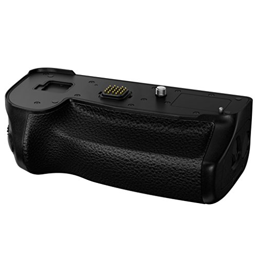 Panasonic Authentic LUMIX G9 Vertical Battery Grip, with Shutter Release & Focus Point Control Joystick, Black (DMW-BGG9)