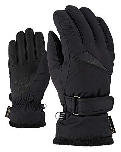 Ziener Damen KOFEL GTX lady glove Ski-handschuhe/Wintersport   Wasserdicht, Atmungsaktiv, , schwarz (black), 7.5