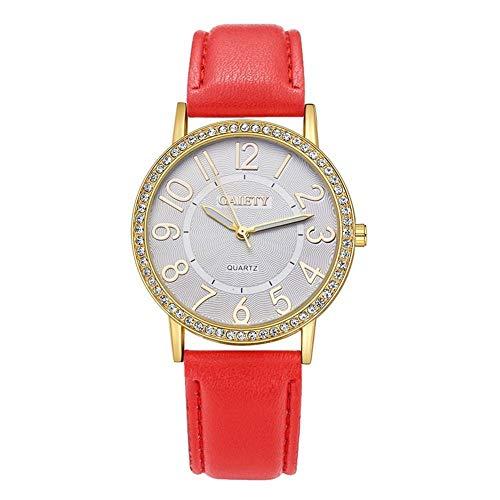 Gaiety - Reloj de pulsera para mujer, 6 colores con correa de...