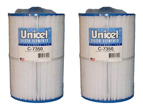 Unicel C-7350 Replacement Cartridge Filters 50 Sq Ft Caldera Spas New Style