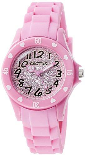 [カクタス] キッズ腕時計 ハート ラメ CAC-91-L05 正規輸入品 ピンク