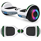 EPCTEK Hoverboard for Kids with Bluetooth Speaker, 6.5' Two Wheel Electric Hover Board