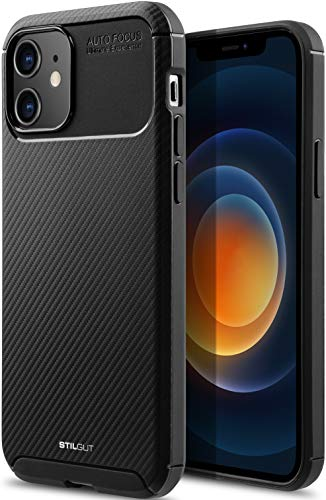 StilGut Carbon Auto Focus kompatibel mit iPhone 12 Mini (5.4