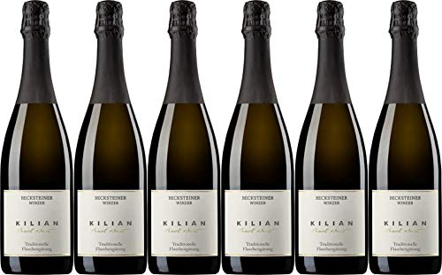 Becksteiner Winzer eG KILIAN Pinot Badischer Sekt 2017 Brut (herb) (6 x 0.75 l)