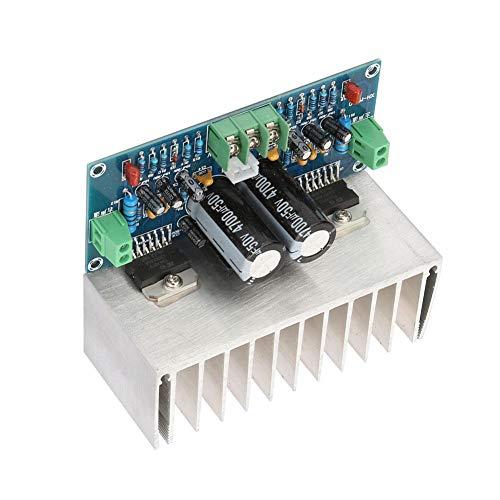 Placa amplificadora de audio digital de doble canal Dgtrhted TDA7293 Módulo de amplificador de 100 + 100 W de doble CA 12~32 V