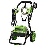 Greenworks 2000 Max PSI @ 1.1 GPM (13 Amp) Electric Pressure Washer GPW2000-1RB (Renewed)