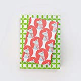 Reversible Holiday Wrapping Paper - Eco Gift Wrap Allport Editions x Wrappily (Christmas Llama)