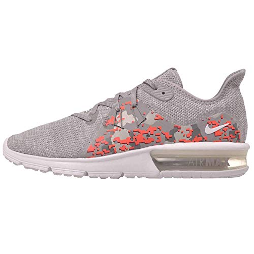 Nike WMNS Air Max Sequent 3 C Womens Running Shoes, White/Vast Grey Size 8 US