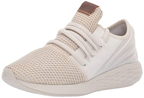 New Balance Damen Fresh Foam Cruz v2 Deconstructed d Laufschuhe, Moonbeam/Faded Birch, 40.5 EU