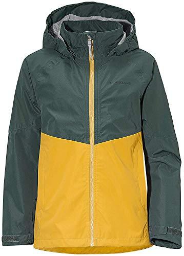 Didriksons Regenjacke Jacke Tera Girls Jacket 2 dunkelgrün Winddicht Unifarben (140)
