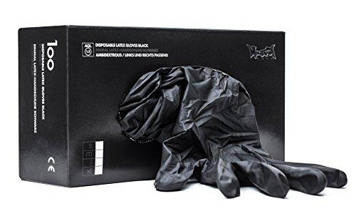 226953 MT Latex-Handschuhe, Größe M, Schwarz