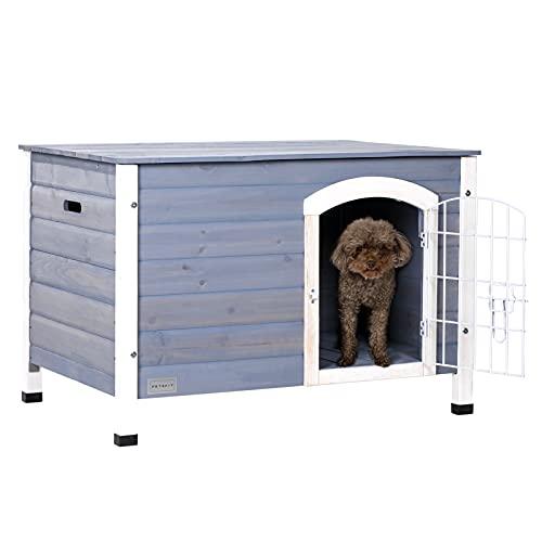 Petsfit Indoor Dog House with Wire Door...