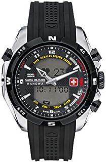 Swiss Military Hanowa - Hanowa 06-4174.04.007.07 - Reloj para Hombres, Correa de plástico Color Negro