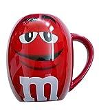 MM's Big Face Ceramic Mugs (Red) m&m m & m