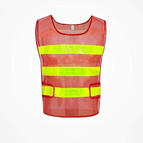 YAYA veiligheidsvesten voor reflecterende kleding regenjas veiligheidsvesten voor reflecterende kleding zichtbaarheid vest veiligheid nachtopbouw veiligheidsvesten