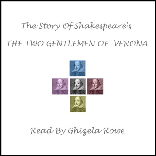 Shakespeare's The Two Gentlemen Of Verona audiobook cover art