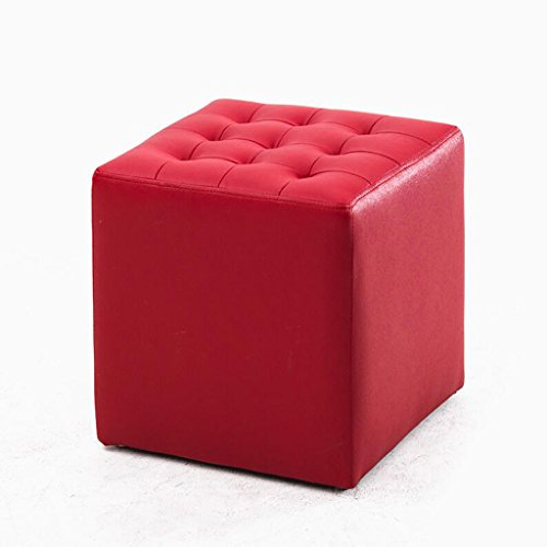 Rollsnownow Big Red Square Changer Le Tabouret Tabouret Canapé Tabouret Tabouret Tabouret de Salon Tabouret Tabouret Tabouret