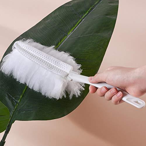 White Microfiber Hand Duster