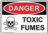 アルミニウム金属ノベルティサインインチ、危険なガス/ガスラインのある危険サイン、ホームメタルサインの面白い警告サイン寝室のドアの安全サイン