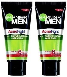 Garnier Acno Fight Face Wash for Men, 50ml (Pack of 2)