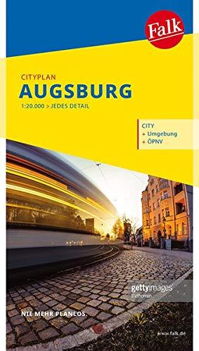 Falk Cityplan Augsburg 1:20 000 (Falk Citypläne)