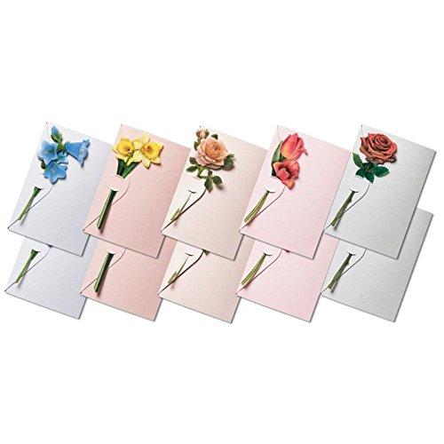 Verschluss-Grußkarten & Folien 3-D Motive