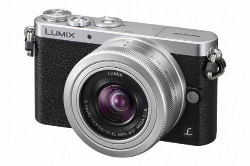 Panasonic Lumix DMC-GM1 Fotocamera Digitale Mirrorless, 16 MP, LCD 3 , Obiettivo 12-32 mm, Argento