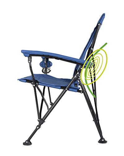STRONGBACK Elite Folding Camping Chair with Lumbar Support.