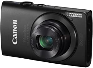 Canon PowerShot ELPH 310 HS 12.1 MP CMOS Digital Camera with 8x Wide-Angle Optical Zoom Lens and Full 1080p HD Video (Black)