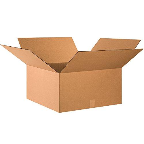 BOX USA Corrugated Boxes, 24' x 24' x 12', Kraft (Pack of 10)