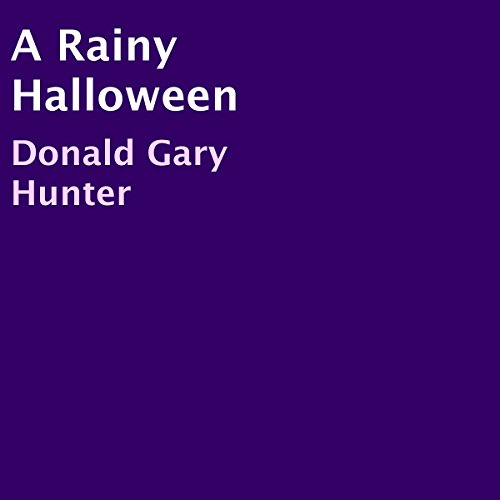 A Rainy Halloween audiobook cover art