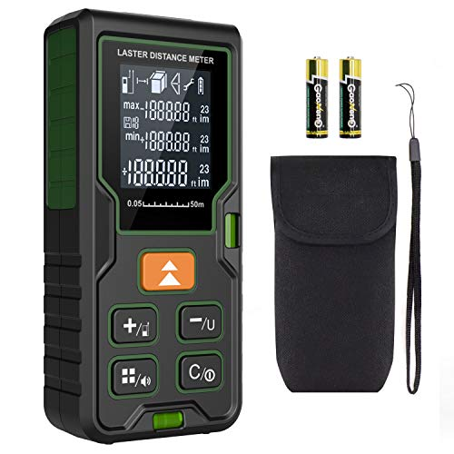 Laser Measure 50m,Klearlook (High Accuracy) Laser Distance Meter 165ft with...