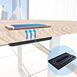Freegogo@10w Invisible Wireless Charger,Long Distance Charging Fixed Under The Desk for All The Phones with Wireless Charging Function (30mm Space Charging)