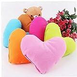 AYRSJCL 1Pc Rosy Precioso Almohada Suave sólido admiten Nido de Amor para Mascotas de Felpa Juguetes para Perros Pet Products