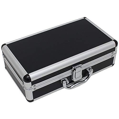 アルミケース ブラック アルミフレーム 小型 工具箱 ガンケース ハード ツールボックス アルミ ケース