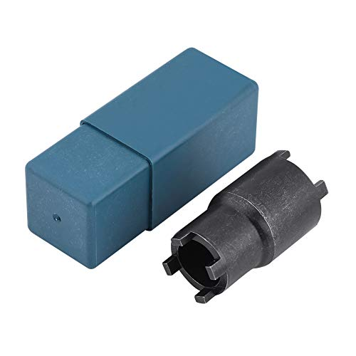 EVGATSAUTO Staal Zwart Clutch Lock Moer Spanner, 20/24mm Clutch Tool Lock Moer Steeksleutel Voor Honda Crf 600rr 450r 250l