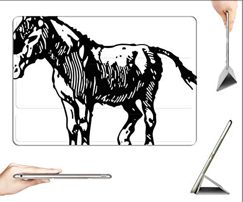 Case for iPad Pro 11 inch 2020 & 2018 - Donkey Animal Farm Mule Nature Character